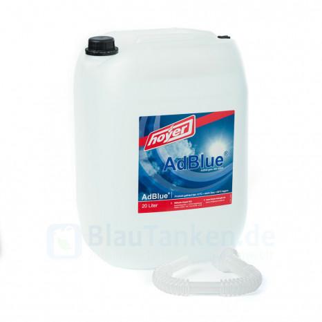 AdBlue® 20 Liter Kanister mit Ausgießer - Hochreine Harnstofflösung für SCR-Abgasnachbehandlung