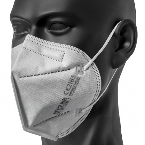 Atemschutzmaske FFP2, produziert in Deutschland, Einwegmaske, 5 Stück FFP2 Masken