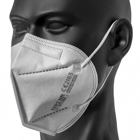 Atemschutzmaske FFP2, produziert in Deutschland, Einwegmaske, 40 Stück FFP2 Masken