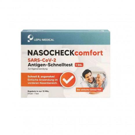 LEPU Medical Nasocheck Corona Schnelltest Laien Test, einzeln verpackt