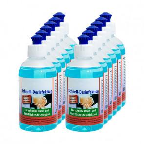 Desinfektionsmittel 12x 250 ml, für Hand- und Flächendesinfektion, VIRUZID